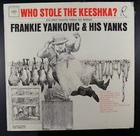 "Frankie Yankovic & His Yanks Who Stole The Keeshka 12"" Record Album LP VG+/ VG+"