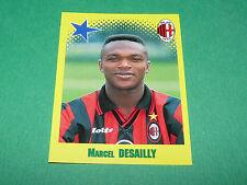 N°443 MARCEL DESAILLY MILAN AC PANINI FOOT 98 FOOTBALL 1997-1998
