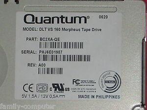 Quantum SuperLoader 3 L700  DLT VS 160 Morpheus TAPE DRIVE BC2XA-QE 72-7105-L