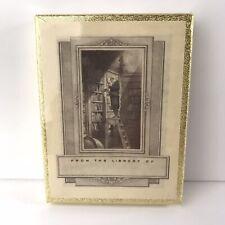 Vintage Antioch Decorative Bookplates Bookworm Spitzweg Library Sealed NOS