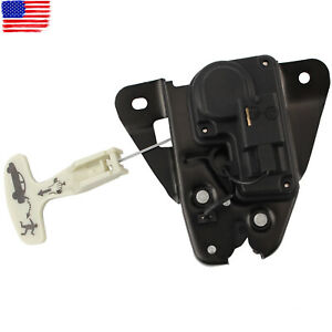 For Chrysler 931-714, 5056244AA Black Tailgate Lock Trunk Latch Actuator