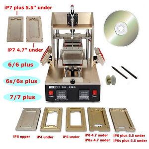 5in1 Vacuum LCD Separator Frame Laminator Glue Remover Preheater Repair Machine