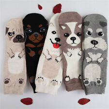 Unisex Lady 3D Fashion Printed Animal Casual Socks Cute Dog Ankle High Socks HOT