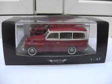 Volvo PV445 Duett red white NEO 43642 MIB 1:43 saab break BEAUTIFUL VERY RARE