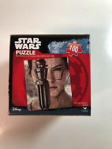"""Star Wars 100 Piece Puzzle Rey Force Awakens Sealed Disney Daisy Ridley 10x9"""""""