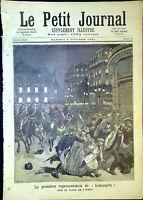 Le Petit Journal N°45 du 3/10/1891 La Première représentation de Lohengrin