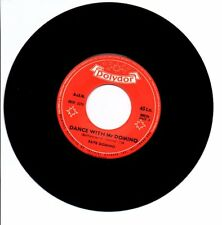 45 TOURS SP FATS DOMINO DANCE WITH MR POLYDOR 28026 BIEM JUKE BOX