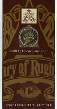 """New listing 2008 $1 Uncirculated Coin: """"Centenary of Rugby League."""""""