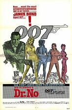 Dr. No R1980 Sean Connery US one-sheet movie poster