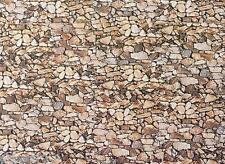 Plaque murale naturel, FALLER MINIATURES N (1:160), art. 222562