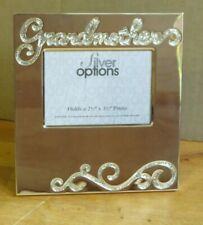 Silver options Grandmother photo frame gift