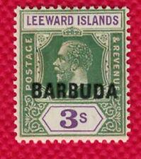 1922 Barbuda 7 MNH - VF- Nice Stamp! - RARE