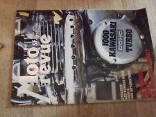 µµ Moto Revue n°2350 Poster Desnoyers / Zundapp KS 50 Kawasaki 1000 turbo