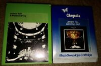 LOT OF 2 SEALED JETHRO TULL 8-TRACK TAPES A PASSION PLAY & BURSTING OUT NEW LOOK