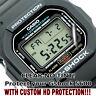 Casio G-Shock DW 5600 HD Clear Crystal Protector Anti Scratch Set of 2