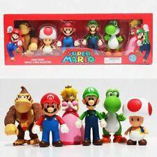 Super Mario Figuren Mario, Luigi, Donkey Kong, Yoshi, Toad ,Princess