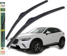 "Mazda CX-3 replacement wiper blades HEYNER HYBRID 22""18"" 2015-on"
