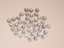 10X Strass à coudre★14mm Trasparent rond★Couture loisir Scrapbooking