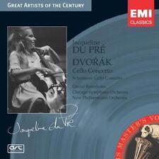 Jacqueline Du Pre / Antonin Dvorak: Cello Concertos w/ Artwork MUSIC AUDIO CD
