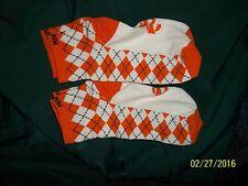 2 pr Pearlizumi Socks. Sz Sm. Orange/White . New w/o tags