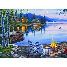 Buffalo Games Darrell Bush: Lake Reflection - 1000 Piece Jigsaw Puzzle NEW
