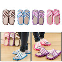 Durable Microfibre Shoe Sock Mop Slippers Remover Cleaning Floor Polishers Home