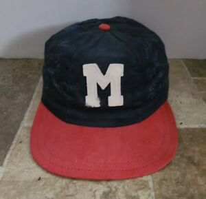 1959 Milwaukee Braves Baseball Spic And Span Dry Cleaners Facsimile Hat Aaron