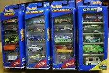 4 NEW HOT WHEELS GIFT PACKS 20 CARS RAD RIGS '50S CRUISERS CITY ACTION CRAZY CLA