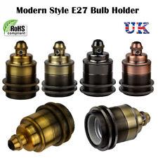 ES E27 Vintage Holder Industrial Lamp Light Bulb Antique Retro Edison Fitting UK