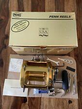 Penn International II 80TW Sea Fishing Reel - New in Box with All Accessories