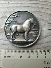 More details for hm silver clydesdale horse society medallion