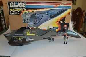 1988 GI Joe - Phantom X-19 Stealth Fighter - With Box