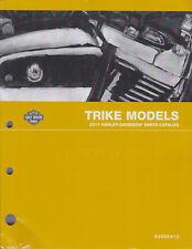 2017 Harley Trike FLHTCUTG Tri Glide Ultra Parts Part Manual Catalog Book 000413