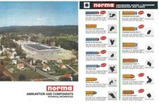 Norma 1969 Ammunition and Components Catalog