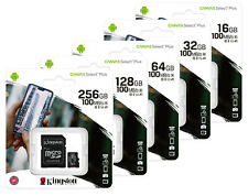 Kingston Micro SD SDHC SDXC 16GB 32GB 64GB 128GB 256GB Class10 Memory Card Phone