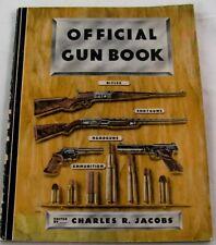 Vintage 1950 Jacobs Official Gun Book. First Edition Elmer Keith Handgun Hunting