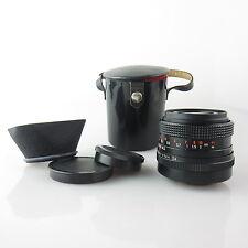 M42 Carl Zeiss Flektogon electric MC 2.4/35 obiettivo/Lens con Hood e case