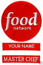 FOOD NETWORK MASTER CHEF HALLOWEEN COSTUME UR NAME SET