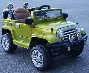 rideONEcar. RIDE ON CAR FOR KIDS JEEP STYLE  BATTERY OPERATED R/C 12V