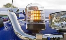 Britax B201 LED clear lens beacon flashing amber warning light for Kelsa truck