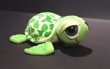 "Sea Turtle Green Sparkly Plush 2006 Fiesta 8"""