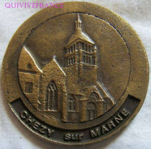 MED7781 - Medal Chezy On Marl - Mellita France 1962-1982