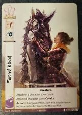 L5R LCG Favored Mount Extended-art Promo