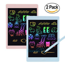 2Pack 8.5'' inch LCD Writing Drawing Tablet Pad Notepad Board w/ 2 Stylus