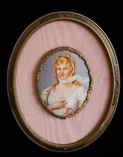 Hutschenreuther Hand Painted Porcelain Portrait of Queen Louise of Prussia