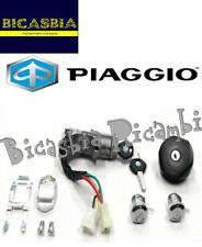 613768 - ORIGINALE PIAGGIO KIT SERRATURE AVVIAMENTO APE QUARGO 500 750