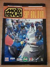Programme officiel Moto Revue 58e BOL D'OR Moto Endurance 1994