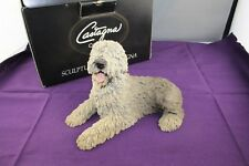 Castagna Collection Old English Sheep Dog Sculpture made in Italy 1988