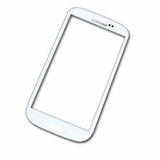Samsung GALAXY s3 i9300 i9301 Vetro Anteriore Touchscreen Vetro Display Bianco Window