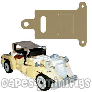 One CUSTOM cape/hood/canope for your Lego Indiana Jones Shanghai Chase 7682 jeep